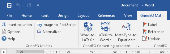 Converting Microsoft Word to LaTeX, LaTeX to Word, MathType